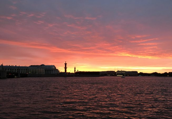 Красные ночи в Петербурге