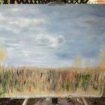 Осенний пейзаж природа Прибалтика картина маслом художник Альберт Сафиуллин