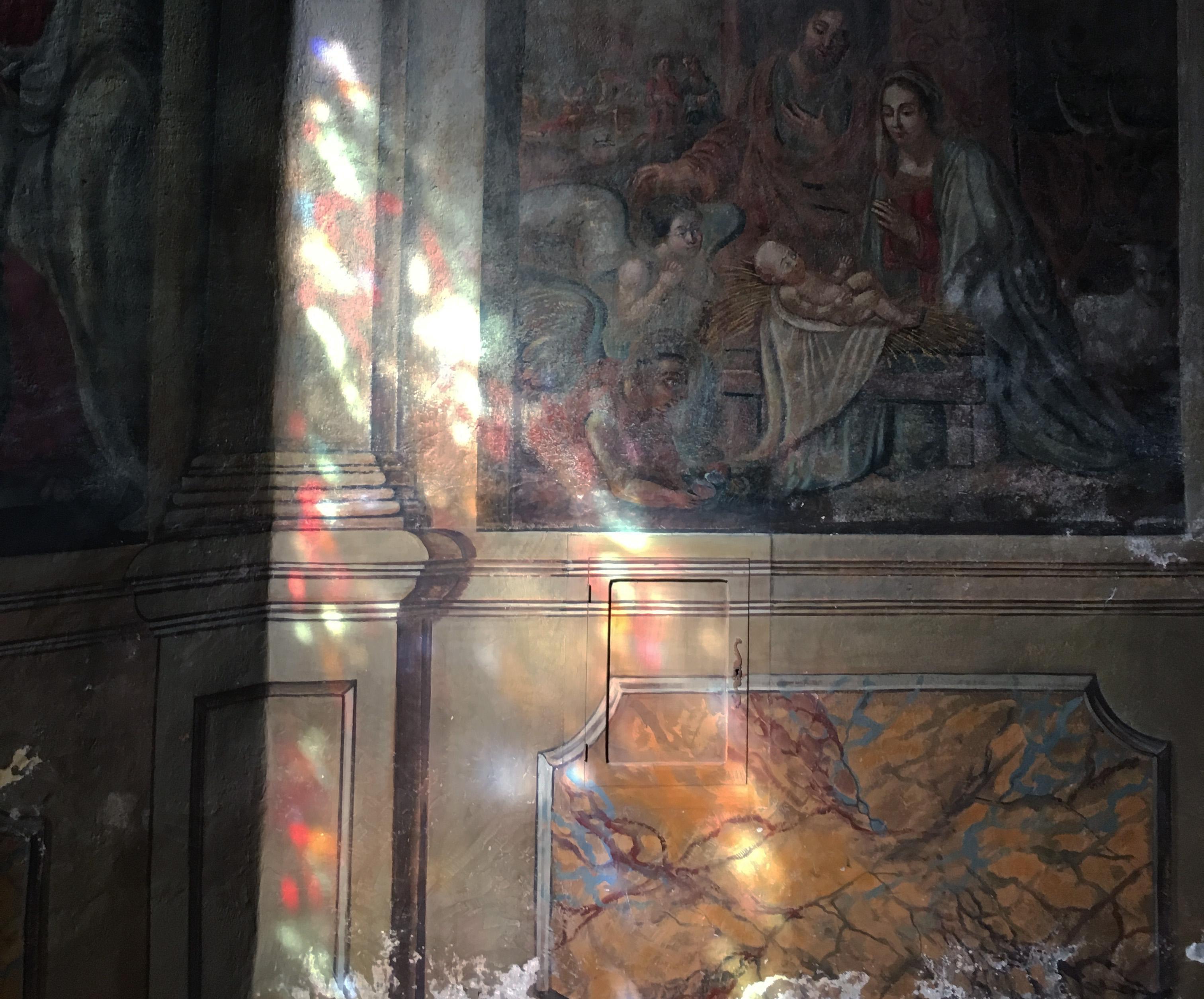 Солнечные витражи церковь Карнак Бретань Église Saint-Cornély de Carnac цвета и краски природы Альберт Сафиуллин