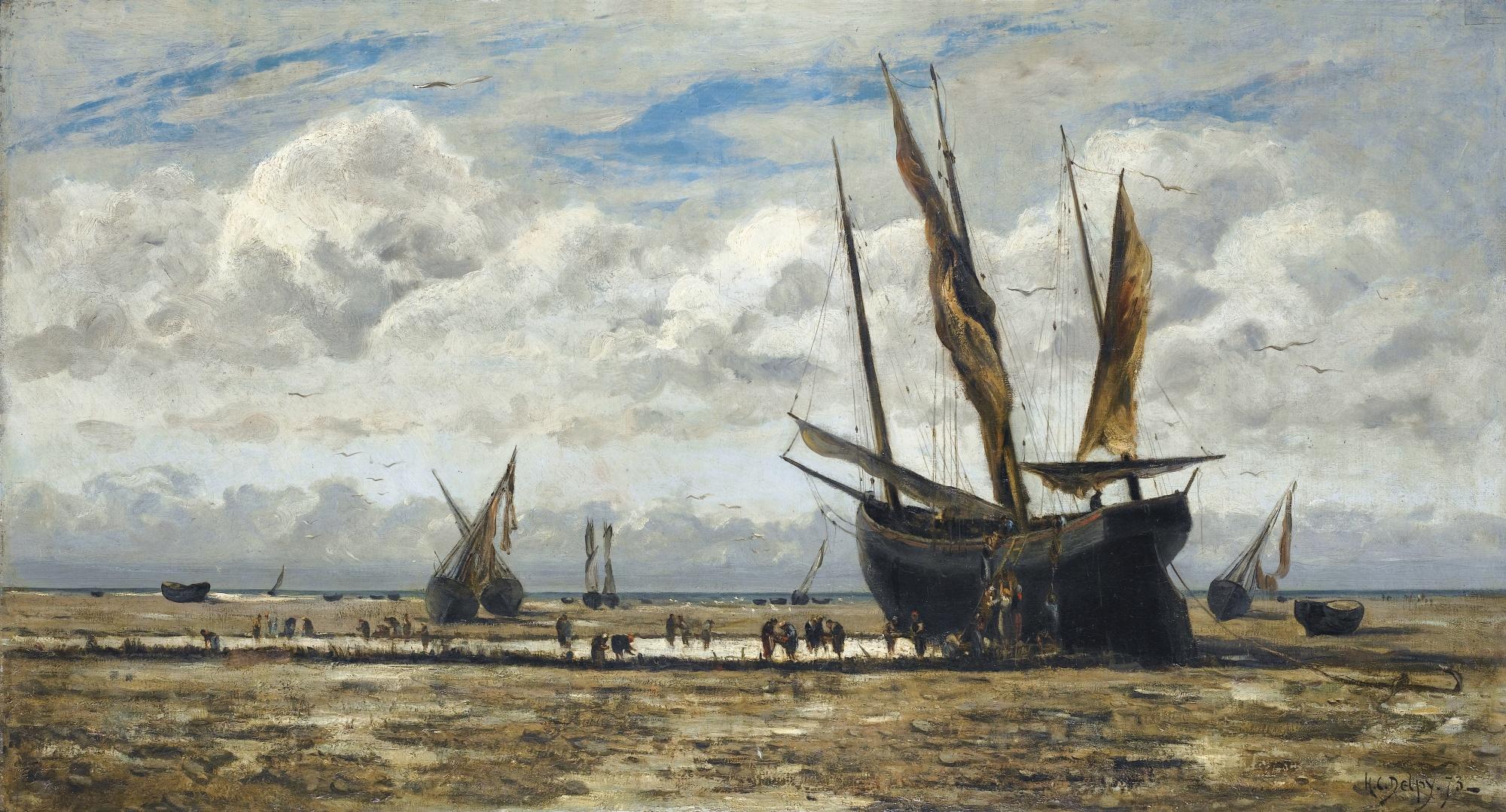 Морской пейзаж порт Канкаль Cancale Бретань Bretagne устрицы природа путешествия Альберт Сафиуллин
