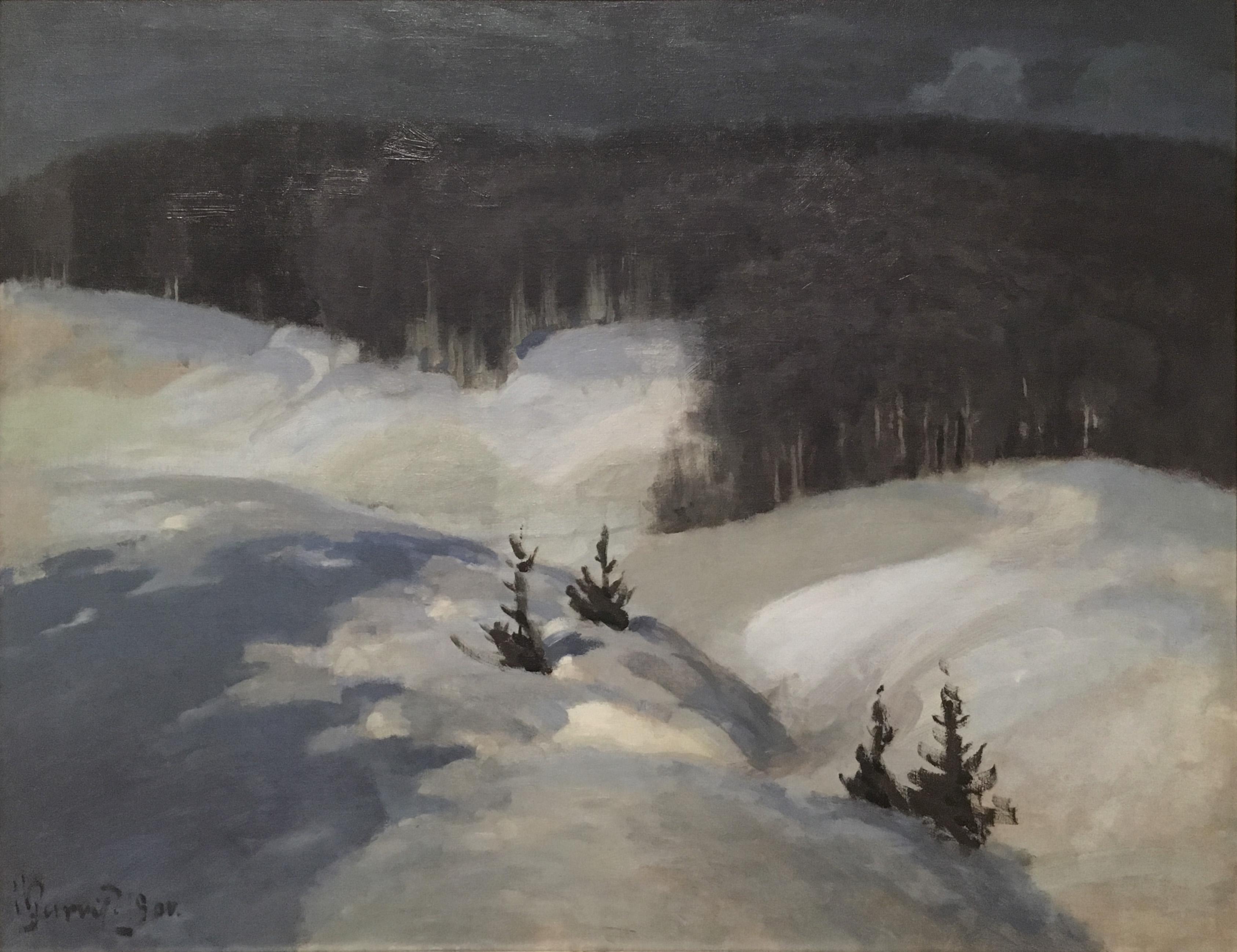Художник импрессионист Пурвитис Purvītis картины Латвия весна зима пейзажи природы Альберт Сафиуллин