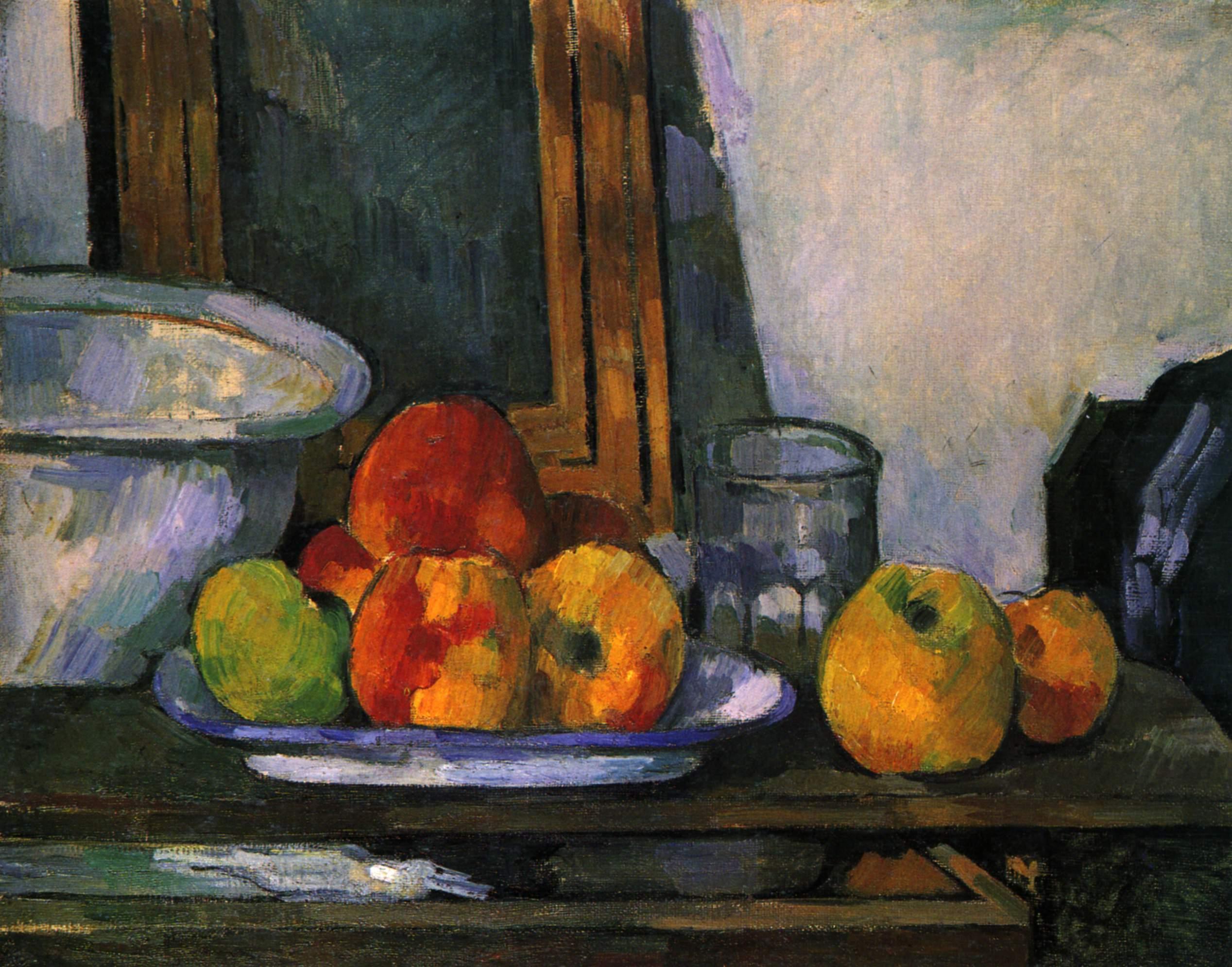 Художник Поль Сезанн Paull Cezanne натюрморт nature morte пейзажи природы Альберт Сафиуллин