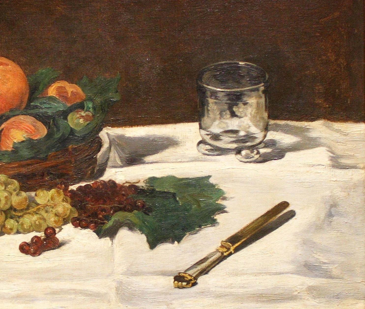 художник Мане Manet Натюрморт с фруктами на столе пейзажи природы Альберт Сафиуллин