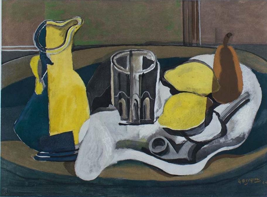 художник Жорж Брак Braque Натюрморт с лимонами пейзажи природы Альберт Сафиуллин