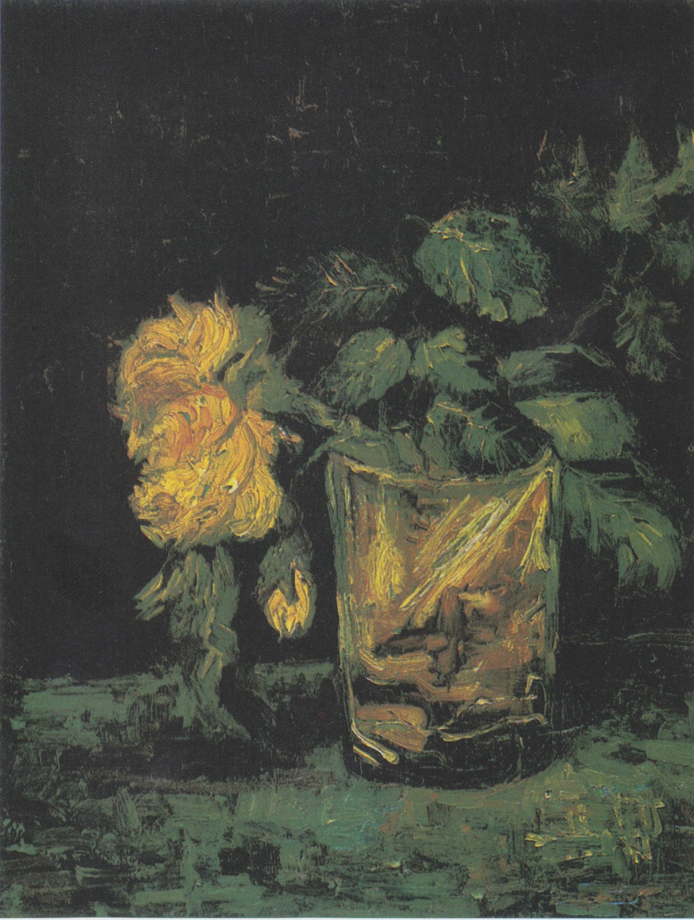 Ван Гог картина натюрморт стакан пейзажи природы художник Альберт Сафиуллин