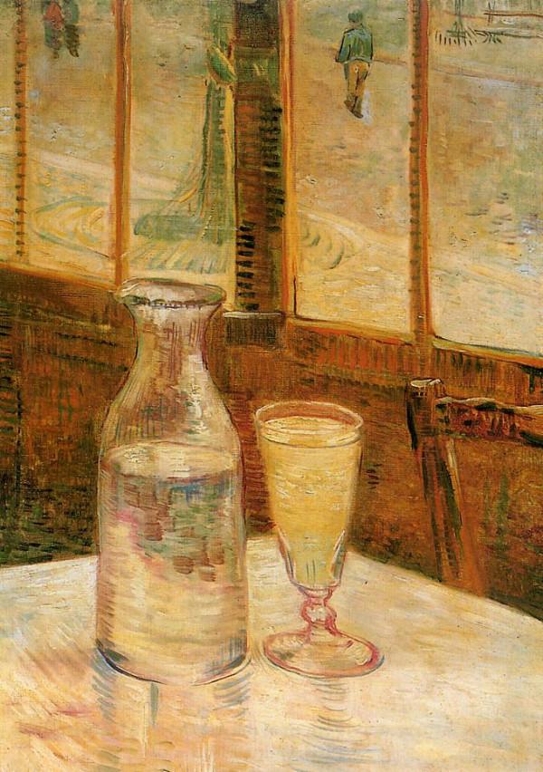 Ван Гог картина натюрморт абсент стакан пейзажи природы художник Альберт Сафиуллин