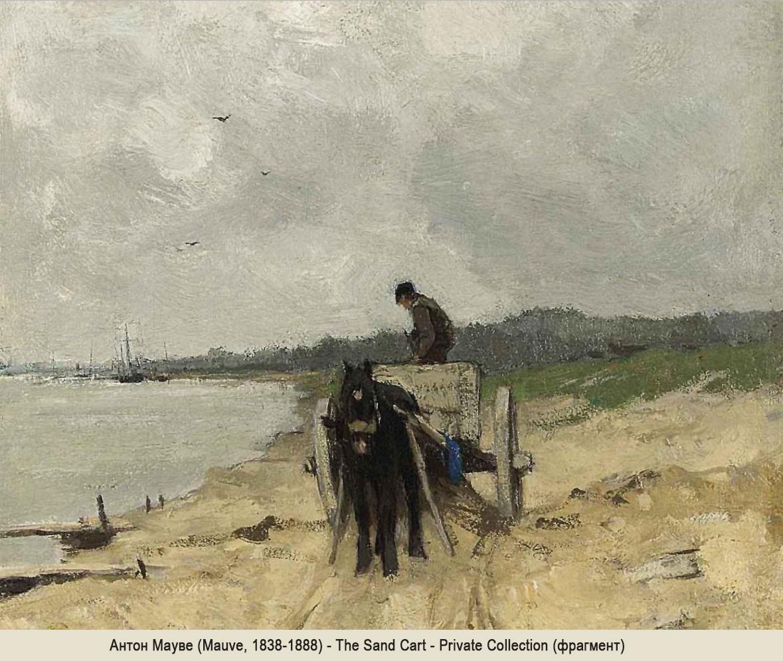 Антон Мауве Mauve Scheveningen Схевенинген море seascape картина пейзажи природы Альберт Сафиуллин