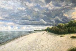 Море в Рагациемсе (Перед дождем)