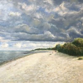 Новая работа — Море в Рагациемсе