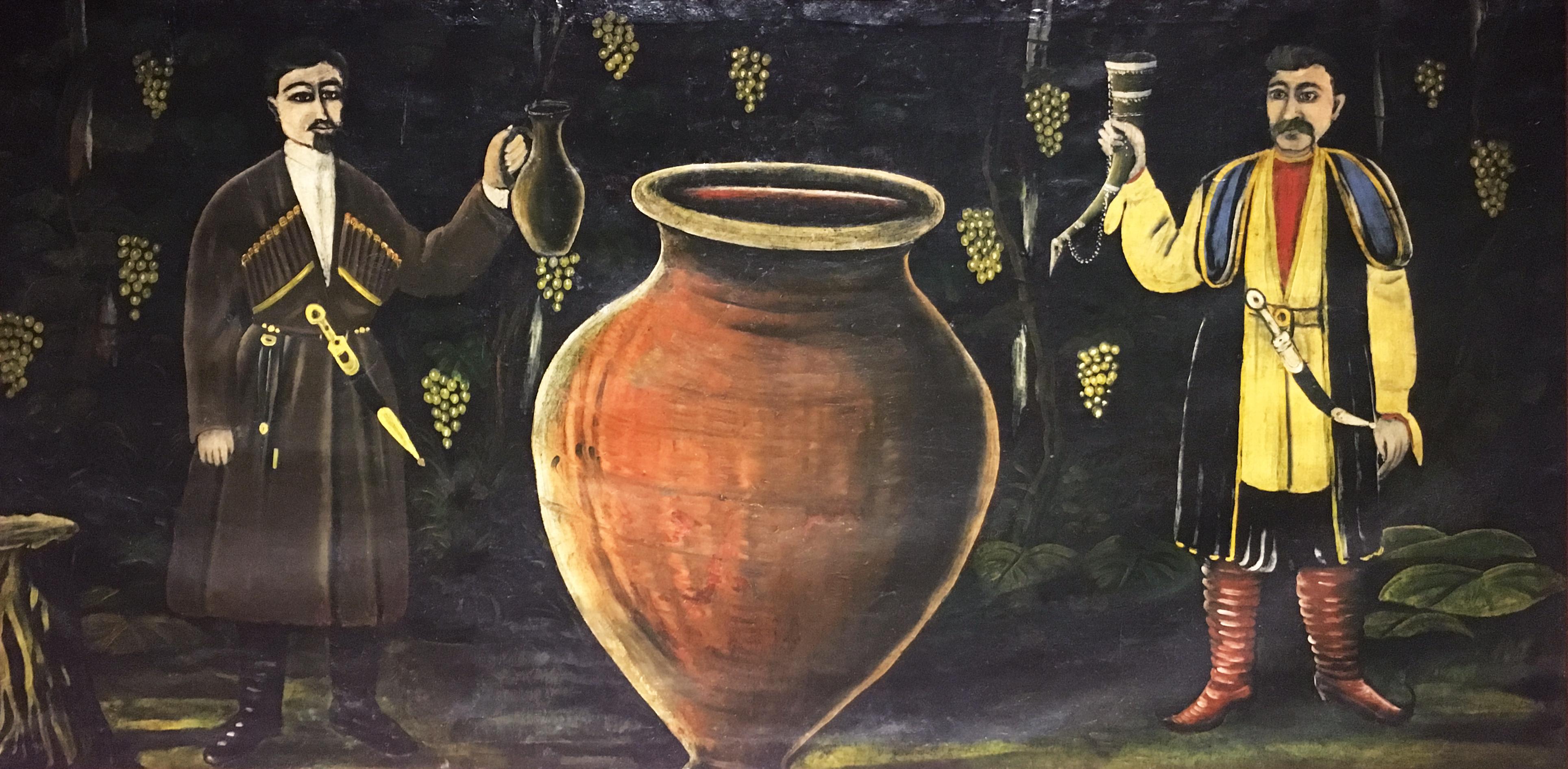 Пиросмани Грузия квеври вино обзор пейзажи природы Альберт Сафиуллин