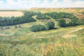 Сельский пейзаж. Старое Барышево.