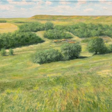 Сельский пейзаж. Старое Барышево