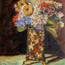 «Ваза с цветами» Адольфо Монтичелли