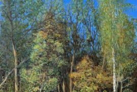 Осенний лес в парке Покровское-Стрешнево.