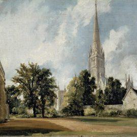 Джон Констебл и собор в Солсбери