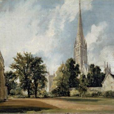 Salisbury Cathedral Constable художник Констебл Солсбери собор картина маслом пейзажи природы Альберт Сафиуллин