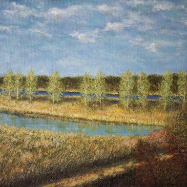 Речной пейзаж. Юрмала в мае.