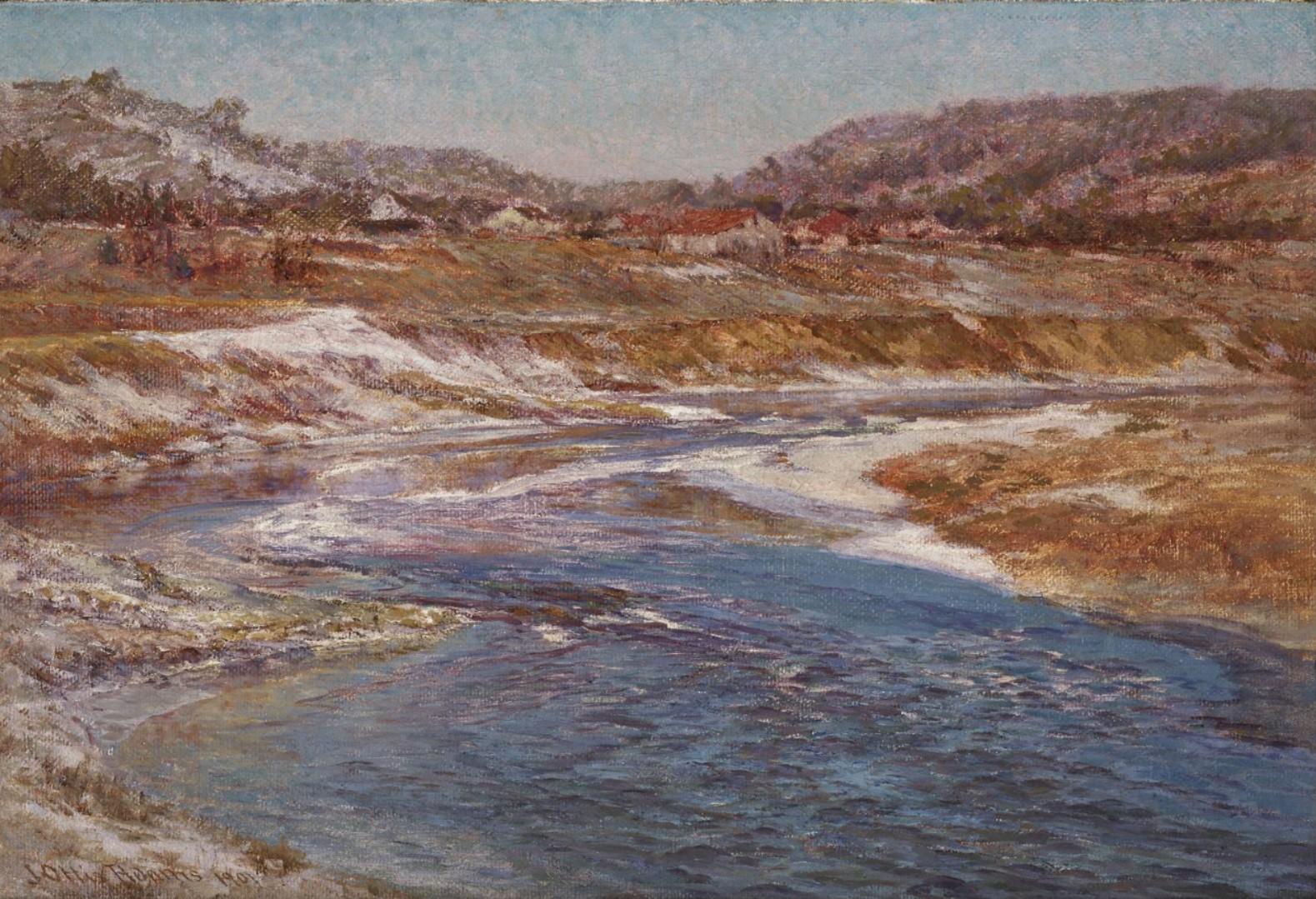 Джон Адамс John Adams картина американский импрессионизм пейзажи природы Альберт Сафиуллин