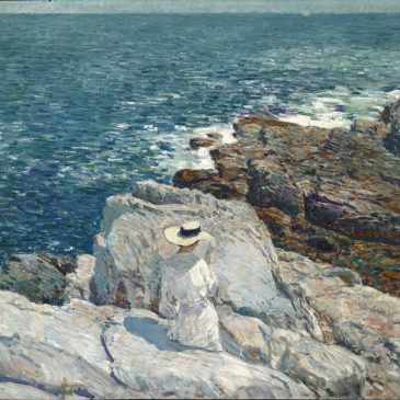 Чайлд Хассам Childe Hassam море пейзаж Эпплдор американские импрессионисты