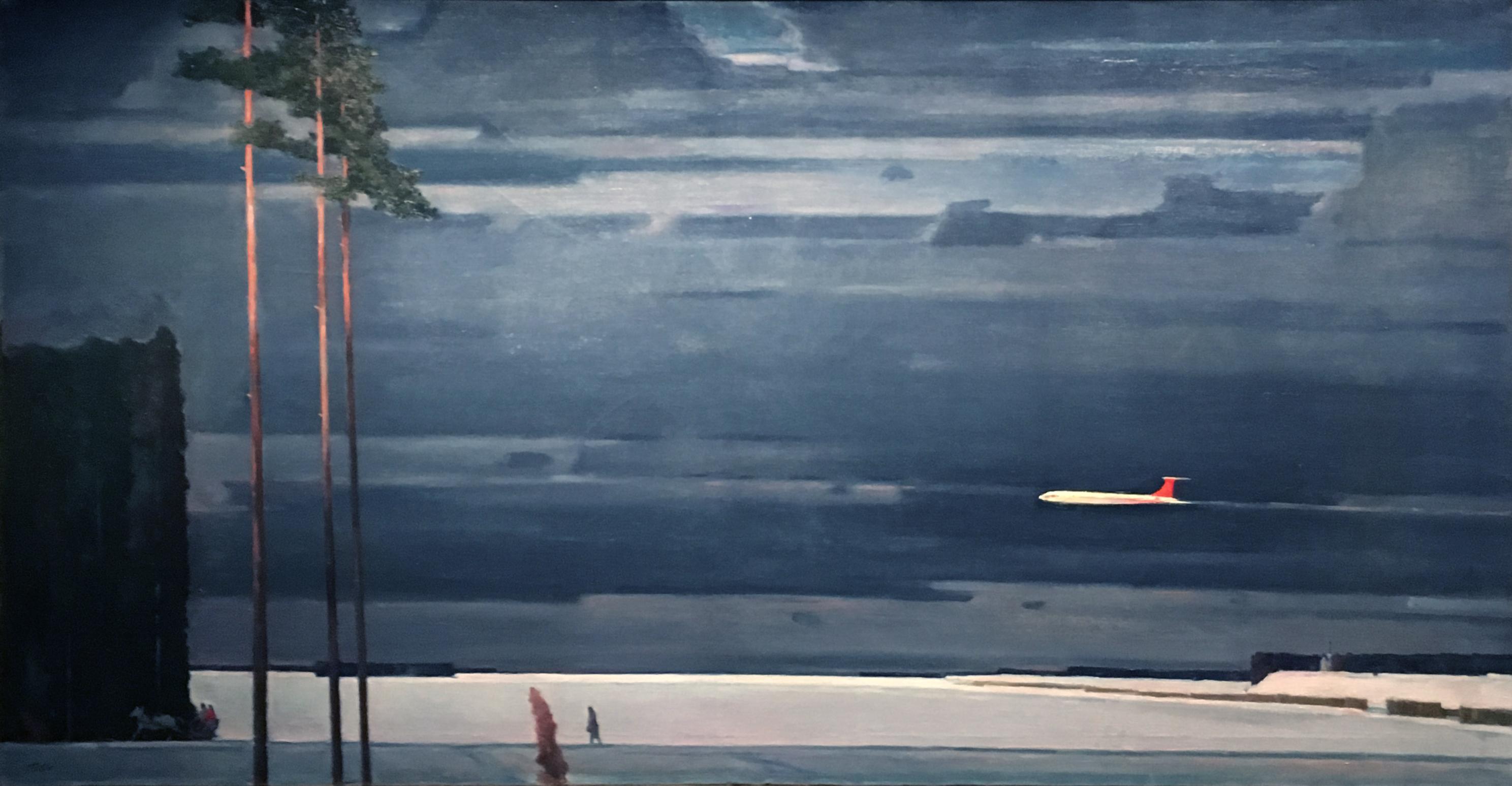 Георгий Нисский Над снегами картина маслом пейзажи природы Альберт Сафиуллин