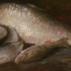 Уильям Меррит Чейз — натюрморты с рыбой