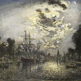 Йохан Йонгкинд — морские пейзажи
