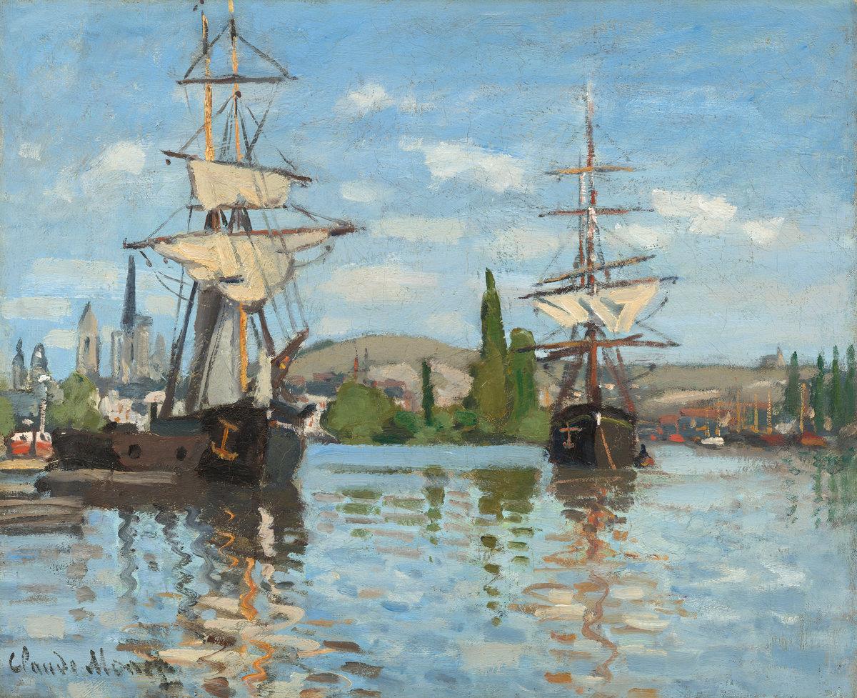 Claude Monet Клод Моне марина картина пейзажи импрессионизм природы Альберт Сафиуллин