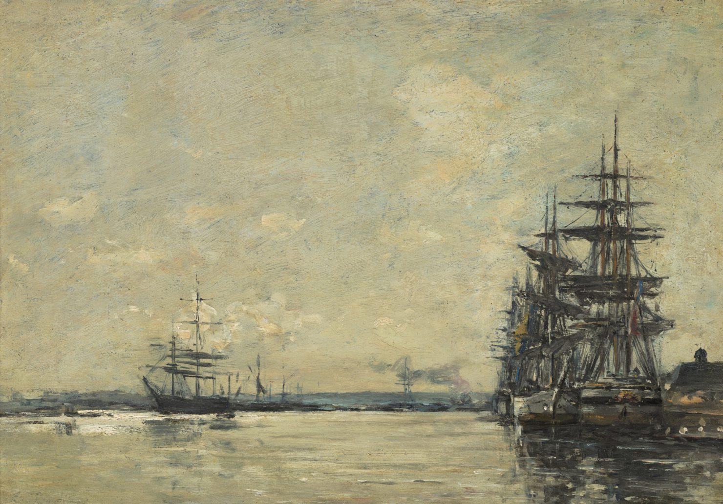 Eugene Boudin Эжен Буден марина картина пейзажи импрессионизм природы Альберт Сафиуллин