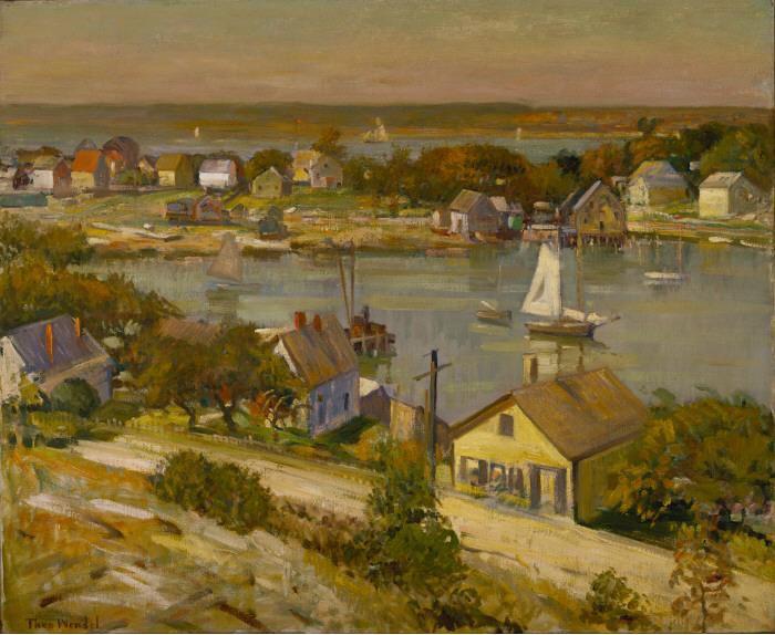 Theodore Wendel Теодор Вендель американский импрессионист картина пейзажи природы Альберт Сафиуллин художник