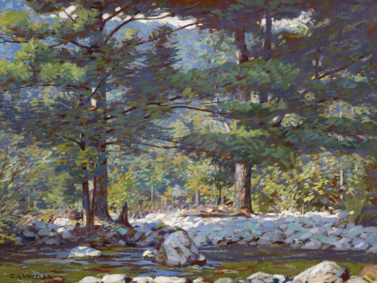Clifton Wheeler клифтон Уилер американский импрессионизм художник картина пейзажи природы Альберт Сафиуллин