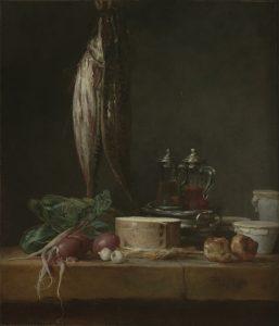 Jean-Siméon Chardin Шарден натюрморт рыба художник Альберт Сафиуллин