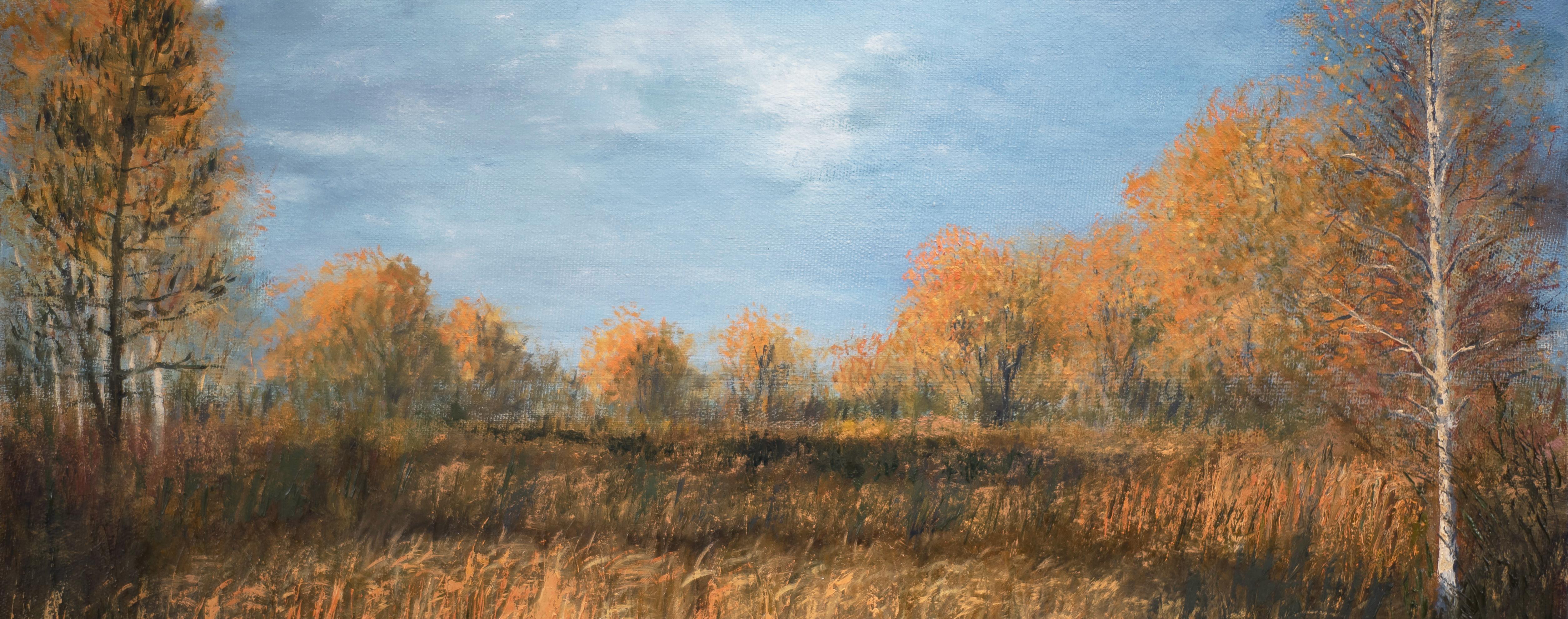 Пейзажи природы художник Альберт Сафиуллин картина масло