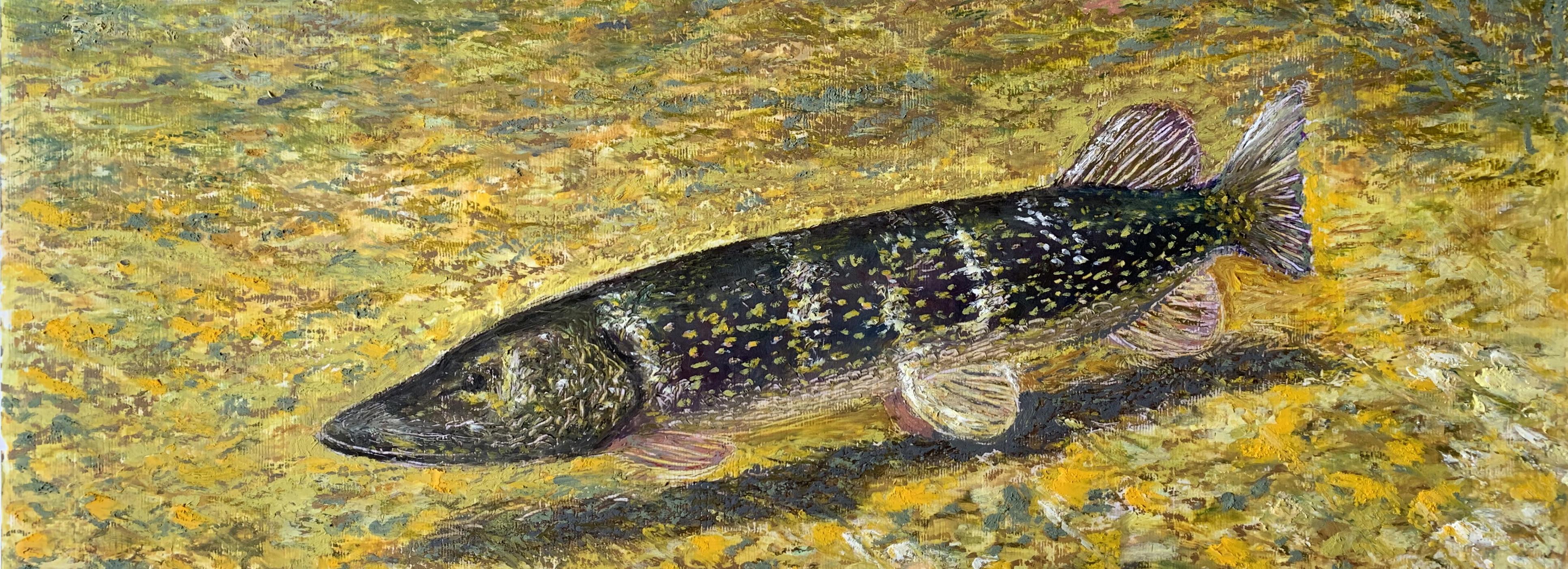 рисунок масляная пастель картина пейзаж натюрморт художник Альберт Сафиуллин