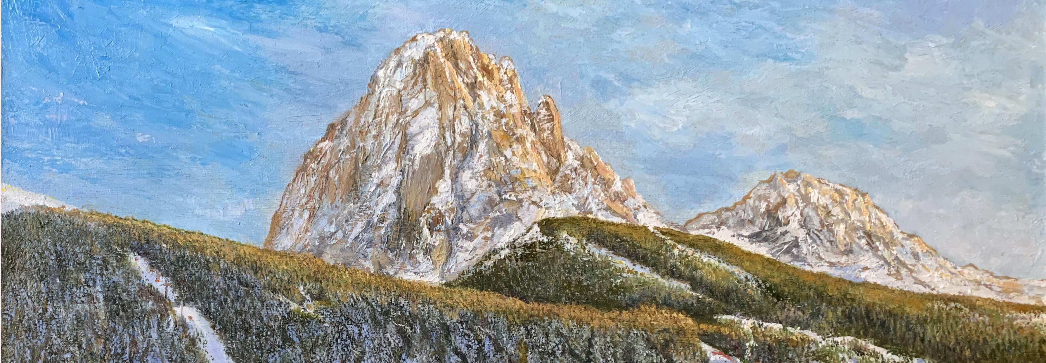 пейзажи природы картины масло художник Альберт Сафиуллин