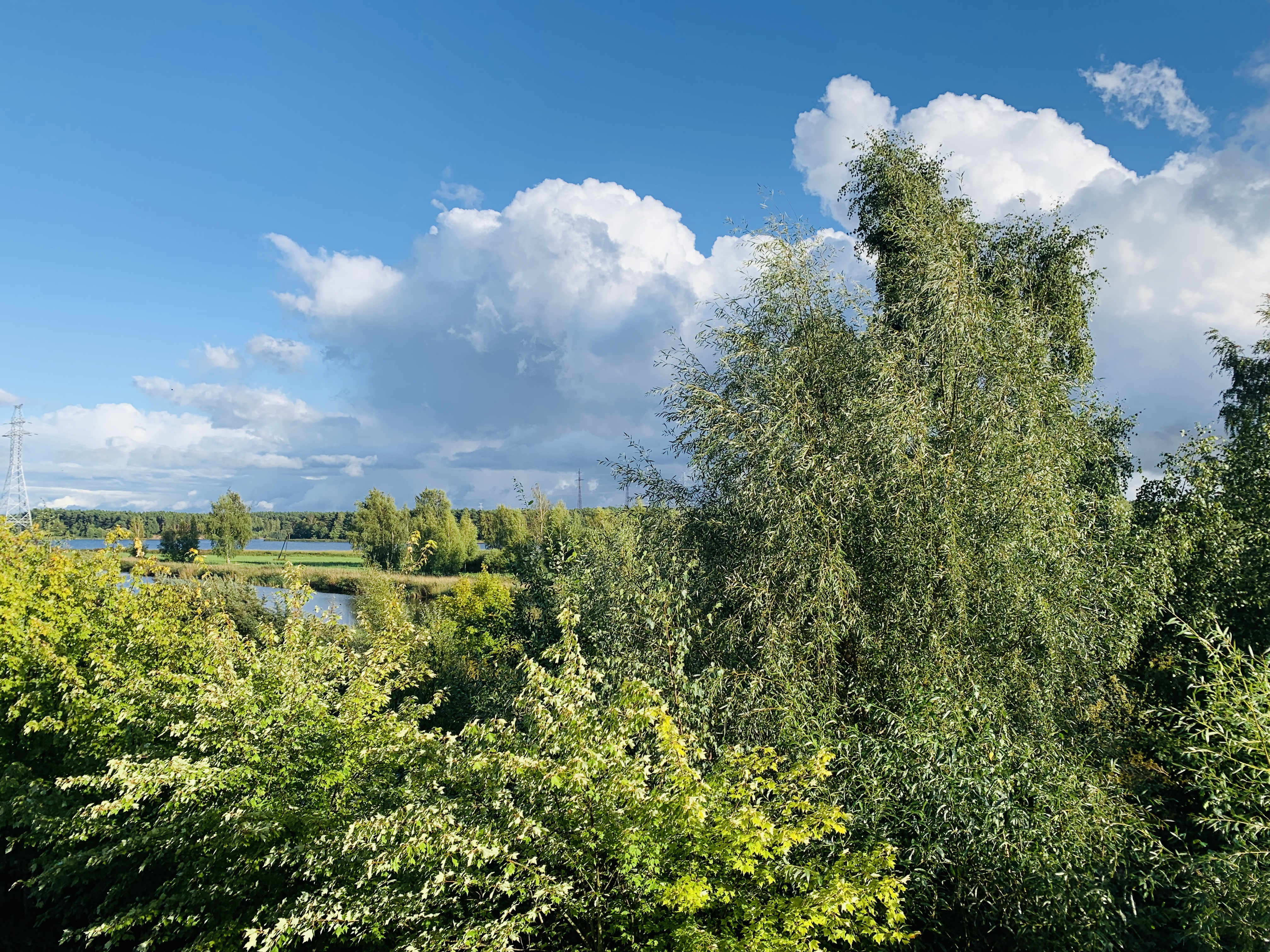 рыбацкие пейзажи в сентябре Юрмала Лиелупе Большая река Альберт Сафиуллин