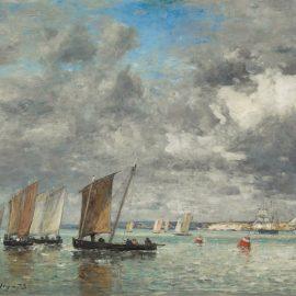 Эжен Буден: морские пейзажи в Камаре-сюр-Мер