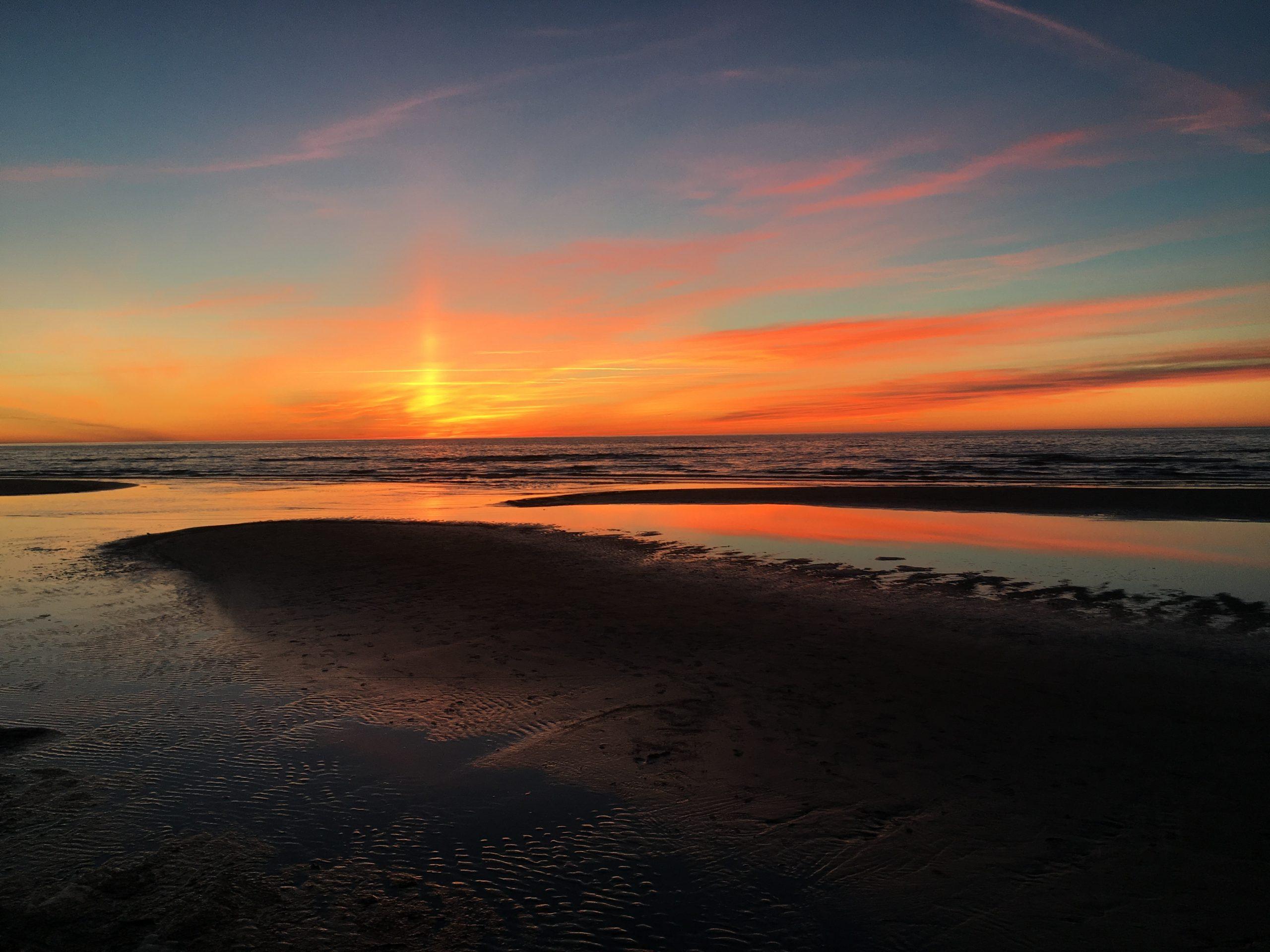 Море берег Юрмала Латвия пейзажи природы Альберт Сафиуллин