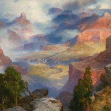 Thomas Moran GRAND CANYON IN MIST картина художник пейзажи природы Альберт Сафиуллин