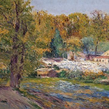 Beruete y Moret Беруэте-и-Морет художник картина пейзажи Альберт Сафиуллин