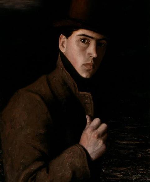 Clarence HINKLE художник Кларенс Хинкль автопортрет картина пейзажи Альберт Сафиуллин