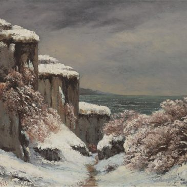 Gustave Courbet Гюстав Курбе художник картина пейзажи Альберт Сафиуллин