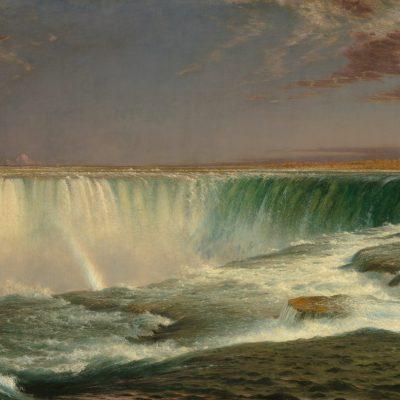 Frederic Edwin Church художник Фредерик Черч картина Ниагара Niagara пейзажи Альберт Сафиуллин