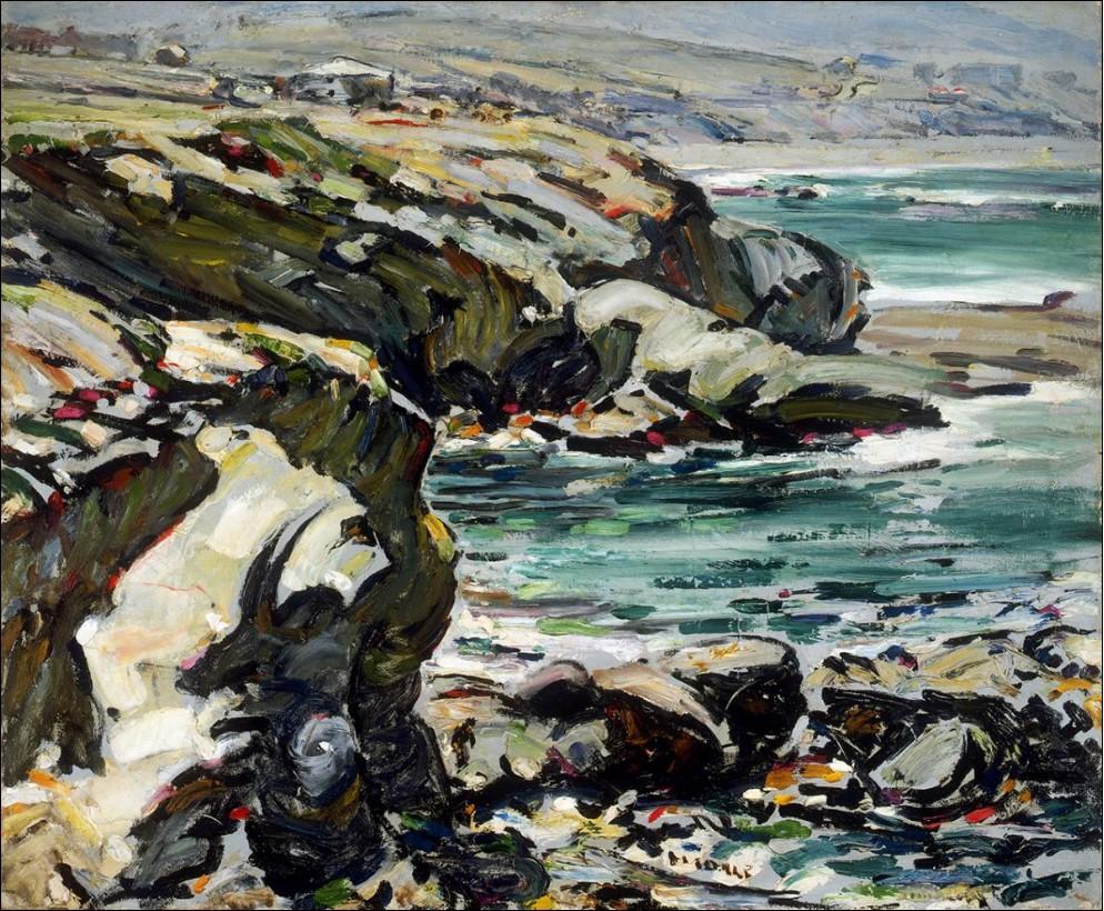 Clarence HINKLE художник Кларенс Хинкль картина лагуна пейзажи Альберт Сафиуллин