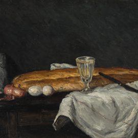 Cézanne Сезанн картина Still Life with Bread and Eggs натюрморт пейзажи Альберт Сафиуллин