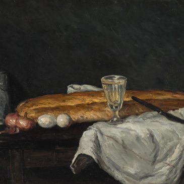 Cézanne Сезанн картина Still Life with Bread and Eggs натюрморт пейзажи Альберт Сафиуллин