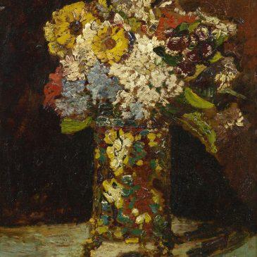 Adolphe Monticelli Vase Flowers Монтичелли художник натюрморт Альберт Сафиуллин